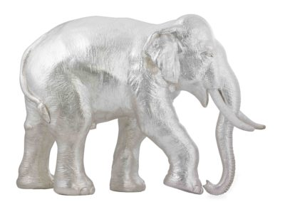 Pure Silver Electroforming Elephant